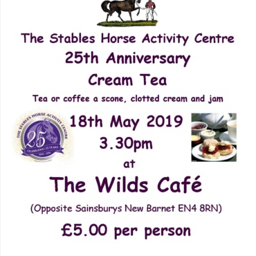 Charity Cream Tea for The Stables